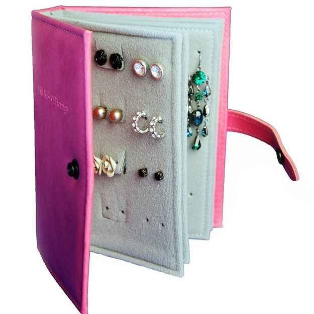52 Meticulous Organizing Tips For The OCD Person In You (#30-An Earring Book)