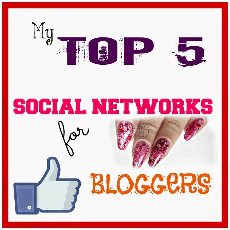 top 5 social networks