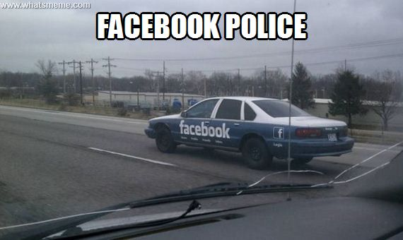 Facebook police
