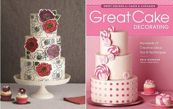 Cake Decorations Taunton : Hand-Stamped Cake Tutorial by Erin Gardner on Cake Geek Magazine. See the full tutorial here ...