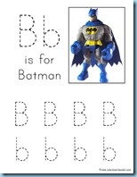 Awesome Batman activity pack for preschool kids. Makes learning fun. BATMAN!