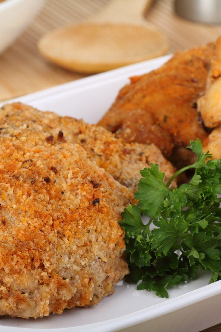Orange Crumbed Baked Chicken (Weight Watchers)