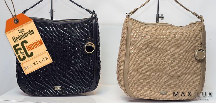 İşte o beğendiğin çantaları almanın tam zamanı! :) #Maxilux #Giyim #Marka #Moda #Çanta #Fashion #Brand #Bag  http://www.maxilux.com.tr/
