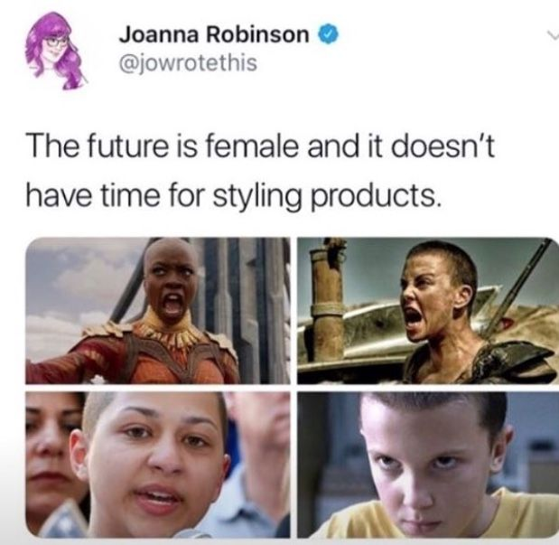 The future is female and it doesn't have time for styling products