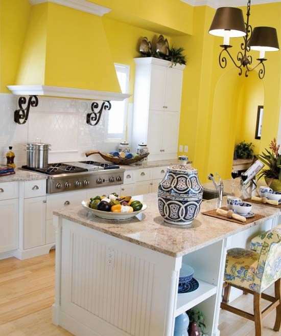 Yellow Paint For Kitchen Walls: 1000+ Ideas About Yellow Kitchen Paint On Pinterest