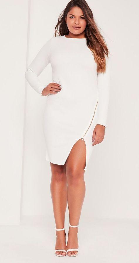 12 Plus Size White Party Dresses Plus Size White Pinterest