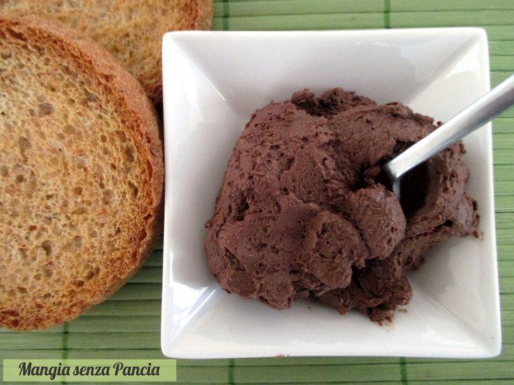 Crema cacao e ricotta light senza cottura