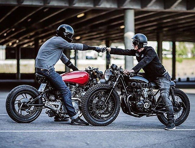 Sweet shot. Tag the owners. . . . #caferacer #hondacb # ...