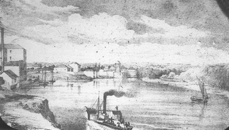The Parramatta River 1848 to 1861 - Personal Observations by W S Campbell