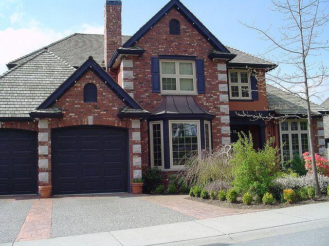 Purple Orange Brick Exterior In 2018 Dream House Exteriors Colors And