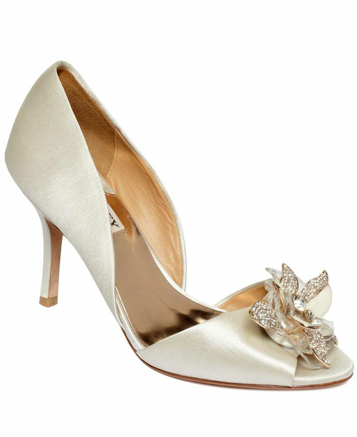 Badgley Mischka Clarissa Evening Pumps - All Women's Shoes - Shoes -  Macy's. Badgley Mischka ShoesWedding OnlineBridal ShoesWedding ShoesPump ...
