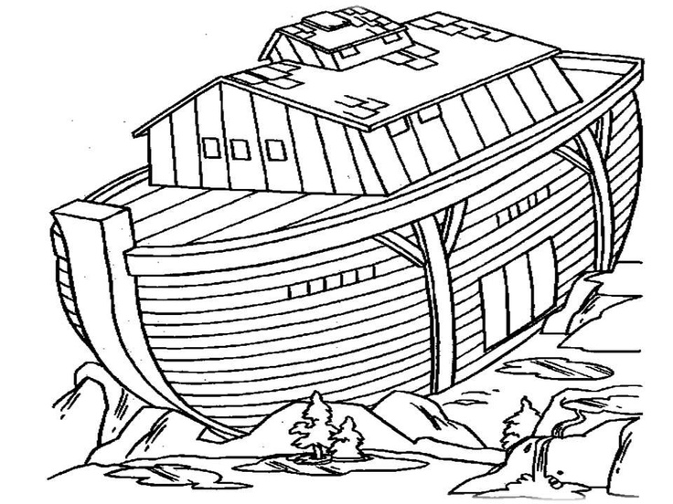 Noahs Ark Coloring Page Free Online Printable Pages Sheets For Kids Get The Latest Images Favorite
