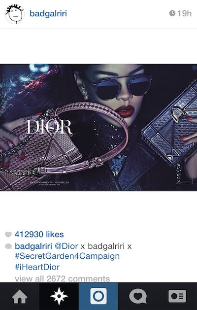 Dior modernizes brand image with Rihanna-fronted campaign. Read more @ http://www.allymon.com