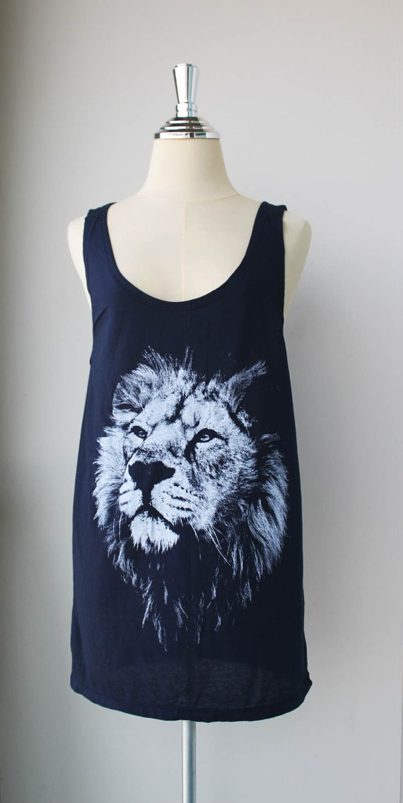 I really want some sort of lion shirt. Not just a cheap t-shirt but an actual nice one