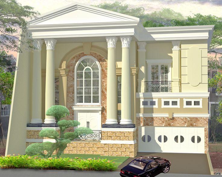 Desain rumah klasik romawi