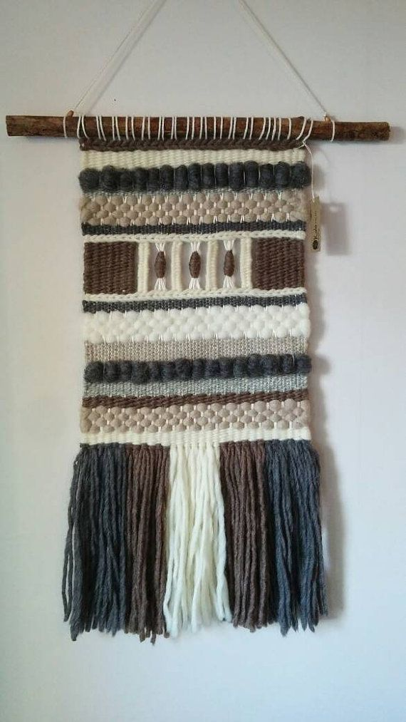 Hey, I found this really awesome Etsy listing at https://www.etsy.com/listing/399658913/handmade-woven-wall-hanging