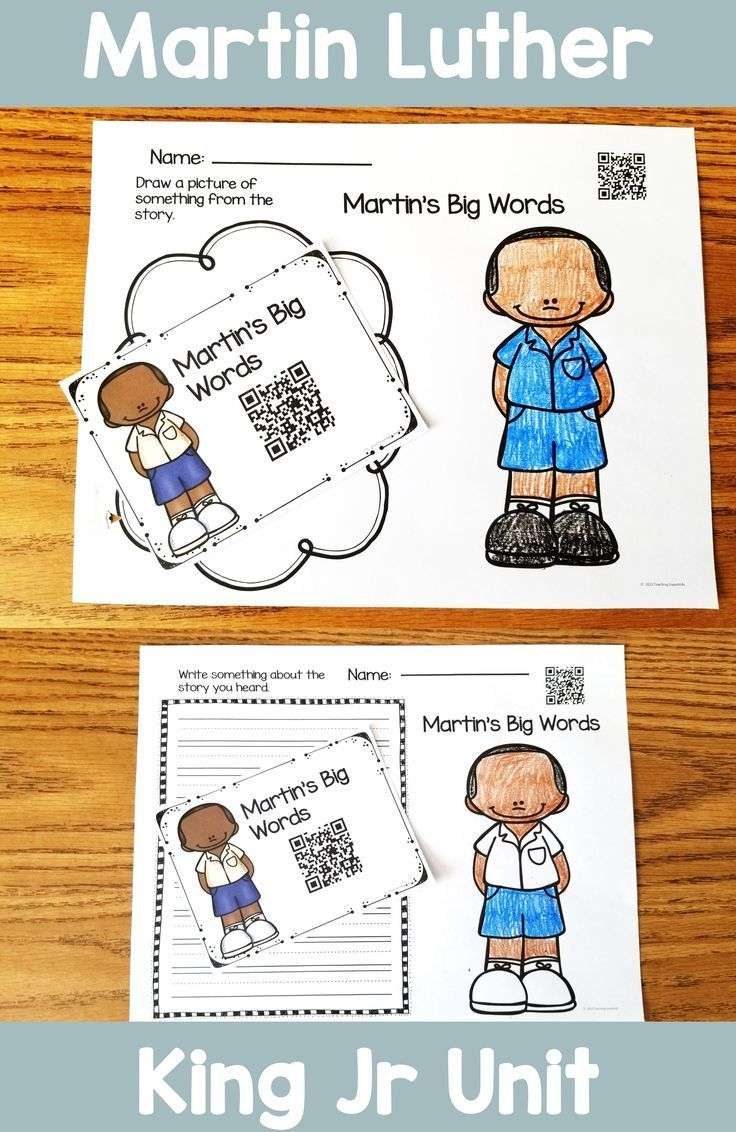 This Unit On Martin Luther King Jr Includes Activities That Are Perfect For Young Elementary Stude Martin Luther King Jr Activities Teaching Superkids King Jr [ 1132 x 736 Pixel ]