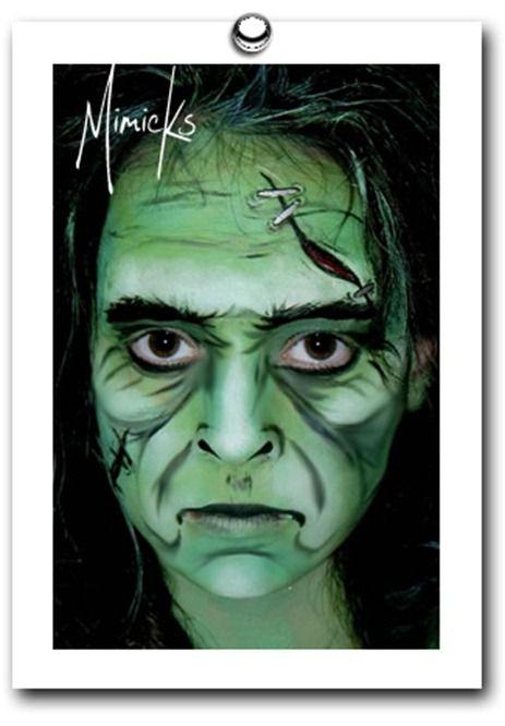 Unique Face Painting Ideas  :: FineCraftGuild.com
