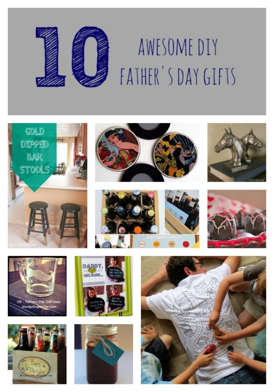 10 Awesome DIY Father's Day Gift Ideas