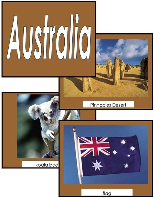 Image Folder of the Continent Australia