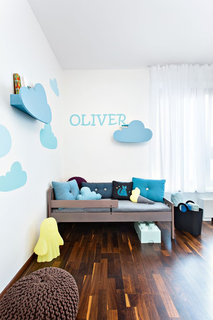 Detail of the children´s room in collaboration with the magazine NOVÉ PROMĚNY BYDLENÍ. Interior design: Lenka Damová, photo: Pavel Bílek
