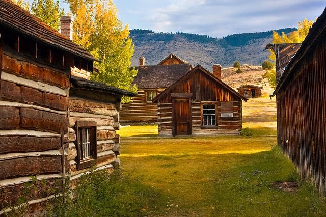 ghost town - Nevada City, Montana