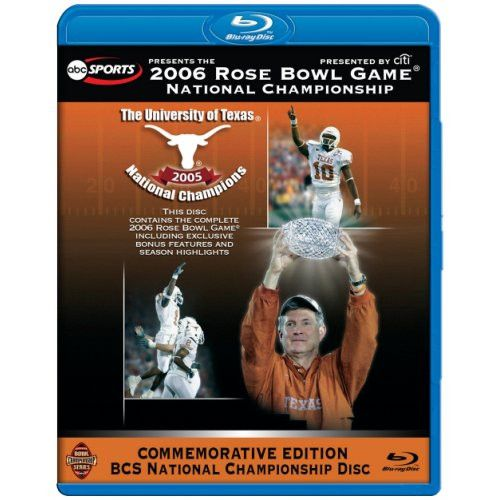2006 Rose Bowl - National Championship Game (texas) (br)