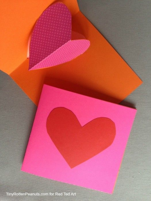 Valentine's Day Cards - Pop-Out Heart Cards