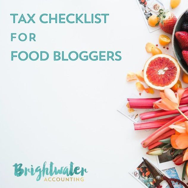 So can you deduct the cost of food for recipe development? This checklist will help you gather the necessary information needed to report the earnings and expenses from your food blog on your tax return. Includes a discussion of whether your food blog is a business or a hobby, common sources of income and expenses, where to report your blog's net income on your tax return, quarterly estimated taxes, Form 1099-MISC, and more.