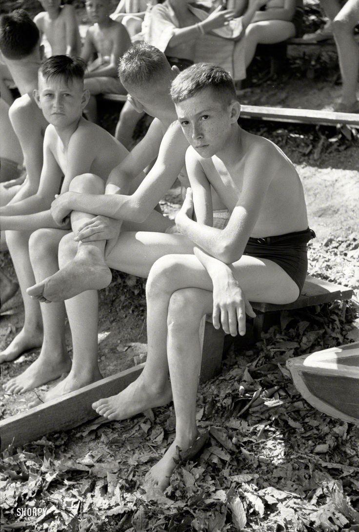 Teen boy nudist camp
