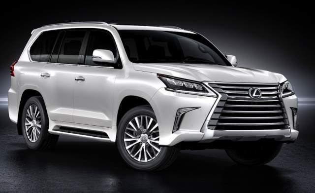 Cool Lexus: 2018 Lexus LX 570 - front...  Truck and SUV Check more at http://24car.top/2017/2017/03/31/lexus-2018-lexus-lx-570-front-truck-and-suv/
