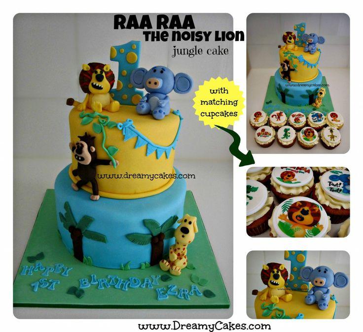 Food Lion Wedding Cakes: Raa Raa The Noisy Lion Cake By Dreamycakes.com