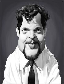 Rob Snow | caricatures - Orson Welles art | decor | wall art | inspiration | caricatures | home decor | idea | humor | gifts
