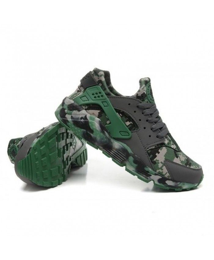 sale retailer 4fdcc 3767a Nike Air Huarache Camo Jungle Trainers