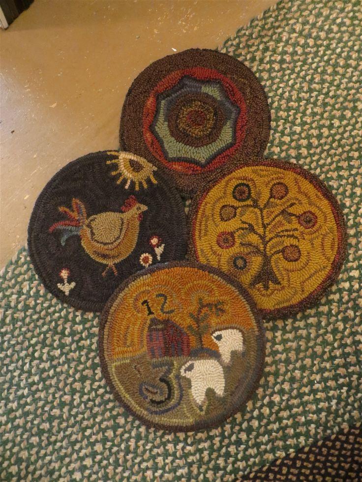 primitive chair pads