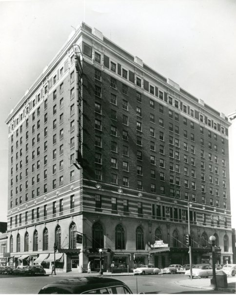 Springfield Illinois Abraham Lincoln Hotel 1950 S Courtesy Of Rewind And The Sangamon