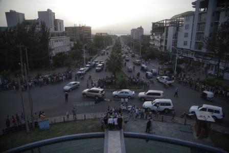 Ethiopia, Hawassa city, Sidamo Tower