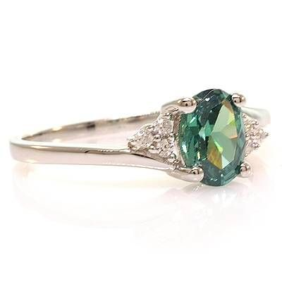 Alexandrite Ring - my birthstone :) - just wish natural alexandrites weren't more expensive than diamonds!