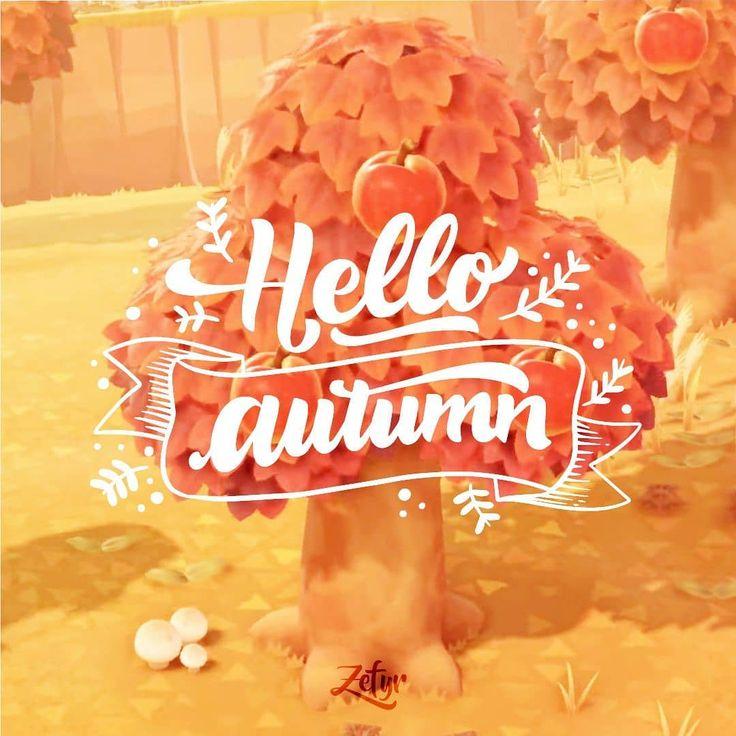 Animal Crossing New Horizons 🍁 Hello Autumn 🍁 #acnl