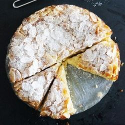 Flourless Lemon Ricotta and Almond Cake for some reason..this just looks so amazing.