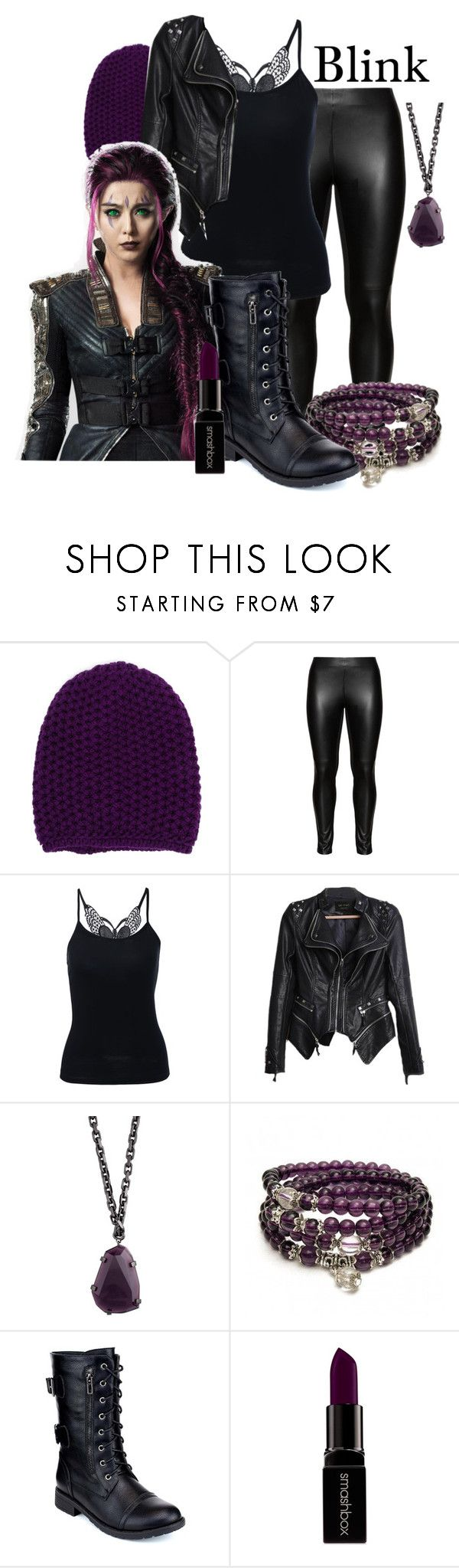 """Random #9 - Blink (X-Men)"" by xfandomtrashx ❤ liked on Polyvore featuring Inverni, Studio, Burberry, Refresh, Smashbox, blink, xmen and xmengirls"