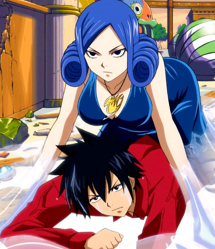 Fairy Tail, Grey and J...