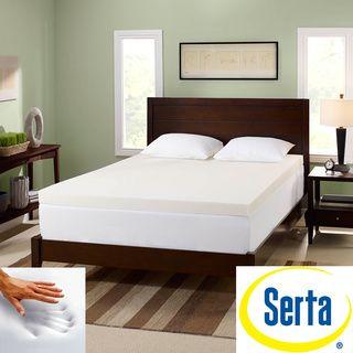 Serta Memory Foam 3-inch Mattress Topper