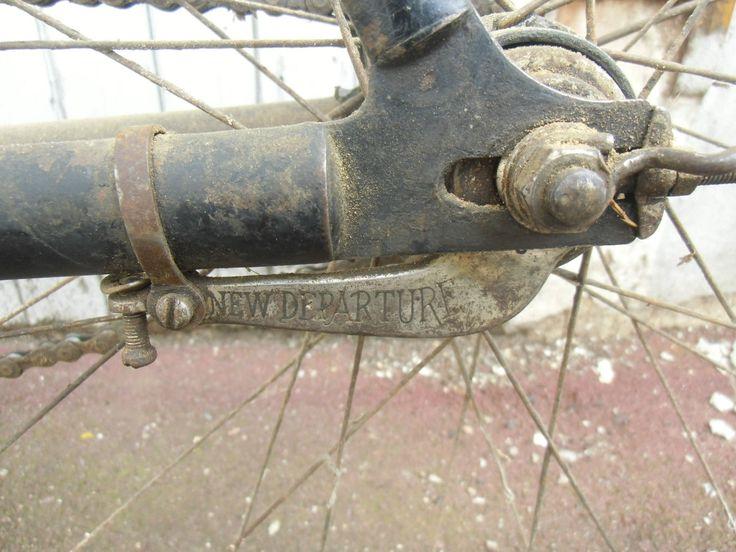 Ancien Vélo Marque Brillant Paris EN État DE Fonctionnement Roues Gravigny | eBay