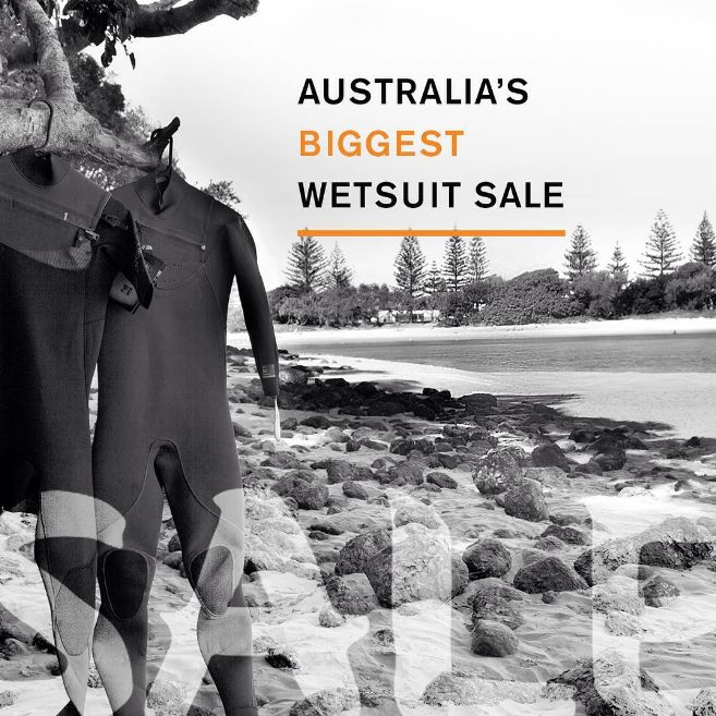 Massive sale on our wide range of wetsuits right now! Lots of new stock to come check out, in store now!
