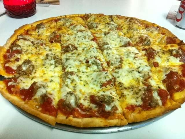 South of Chicago   Pizza - Thin Crust - Pepperoni & Sausage
