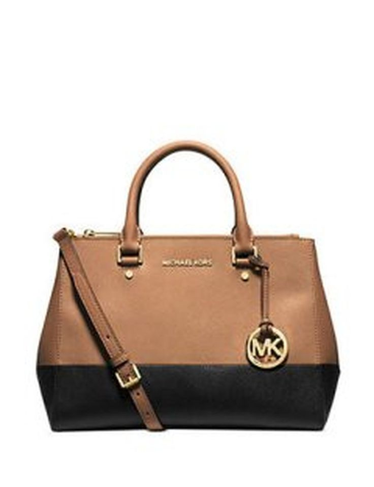 hermes bags replica - top handle bags: MICHAEL Michael Kors Women's Sutton Bicolor ...