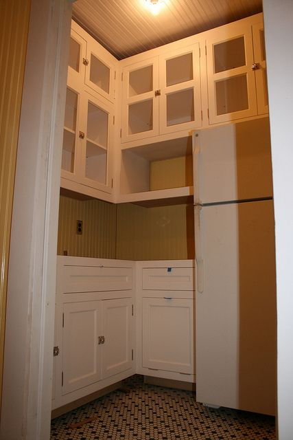 pantry idea for Alex.  1915 CRAFTSMAN BUNGALOW by ab6485, via Flickr