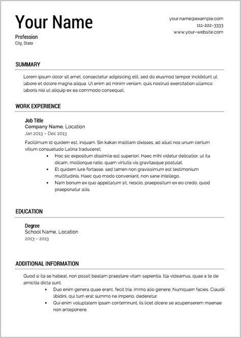 100  free resume downloads - info com