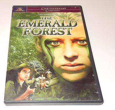 The Emerald Forest Powers Booth Meg Foster (DVD, 2001, Contemporary Classics) WS